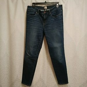 J.Crew toothpick Jeans size 32